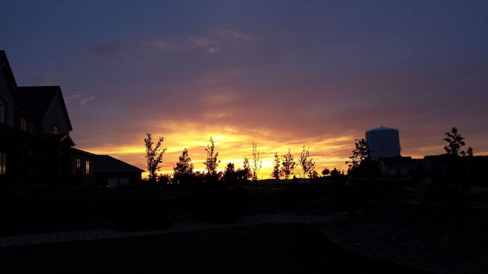 #Wyoming always had the most beautifu #sunsets that I have ever seen. #June2013 #lookingwest