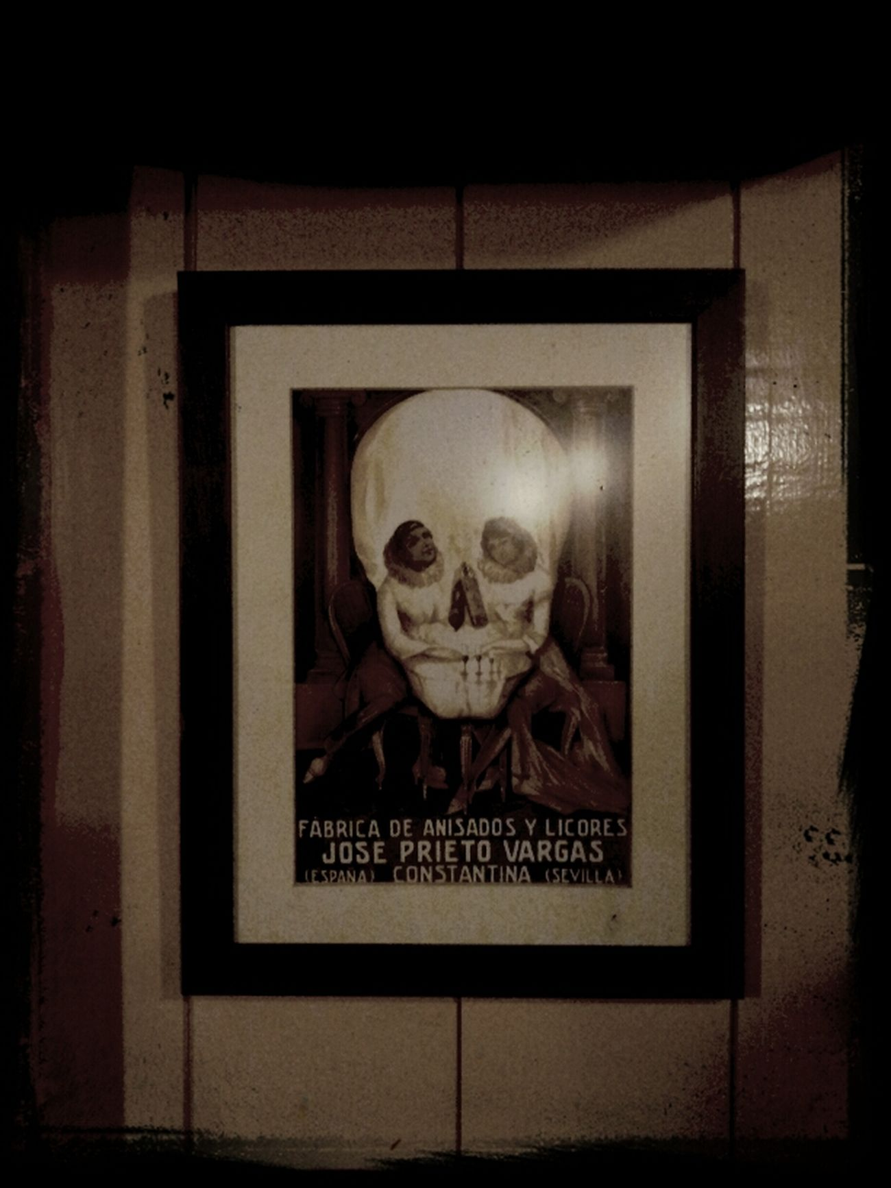 Skulls Advertising Android Galaxy Note Print Advertising