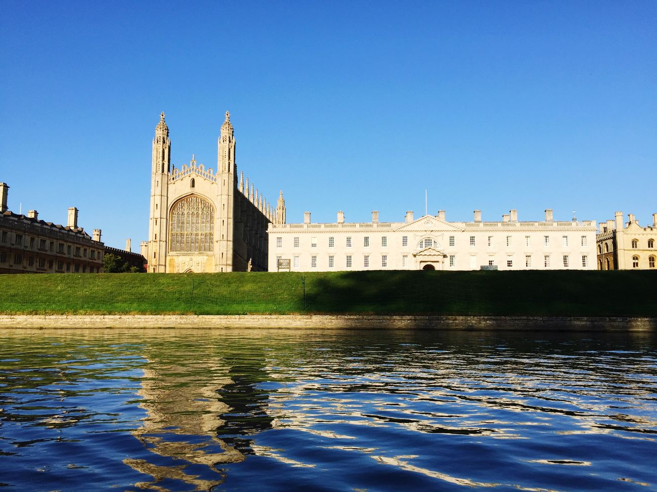 My Cambridge Dream… Cambridge University King's College River Cam United Kingdom Using My Vision To See The World