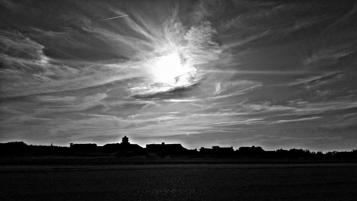 Burning off the fog Jersey Shore Ocean City Nj  Summer Is Coming Clouds And Sky Upper World EyeEm New Jersey Blackandwhite New Jersey