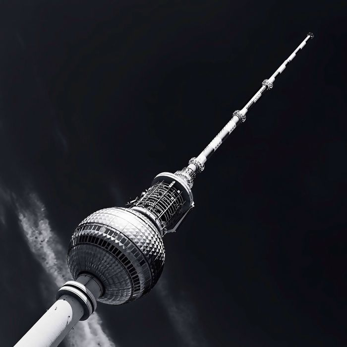 Berlin TV Tower Berlin Architecture Black And White Monochrome The Architect - 2015 EyeEm Awards