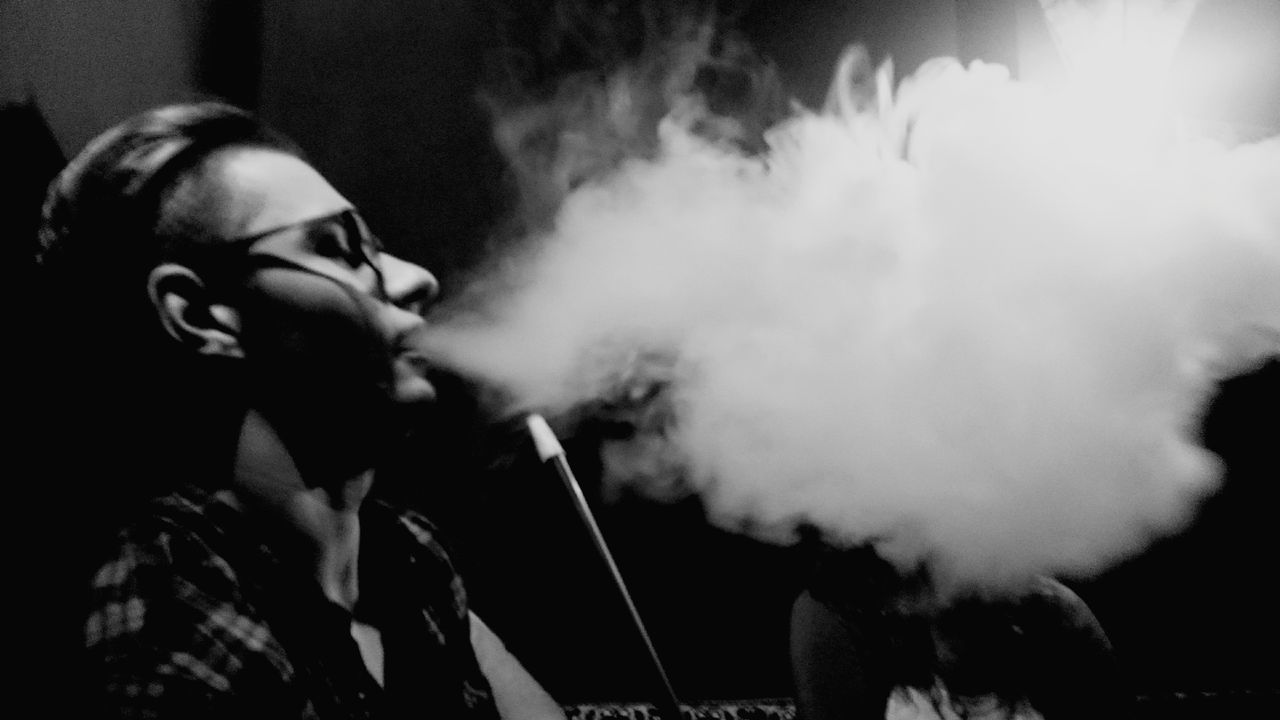 Smoke - Physical Structure Man's Words Bw Black And White Relax Smoke