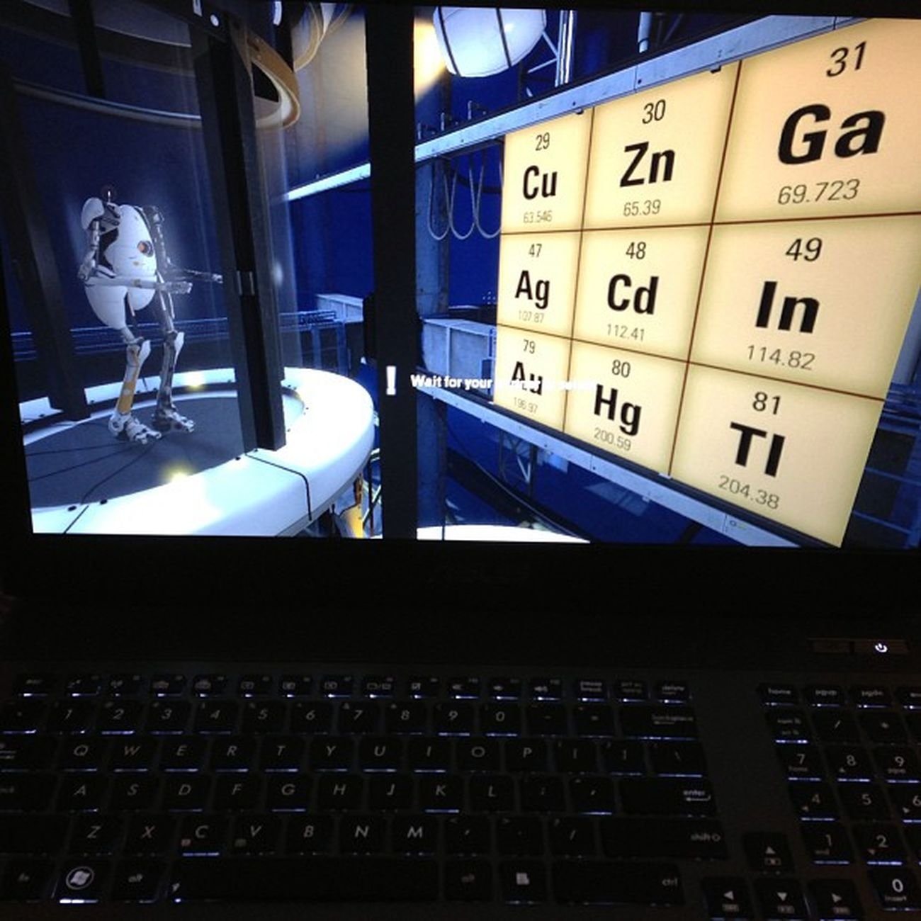 @jemappellekeli has too many options... Portal2 Letsdothis Elementsfahdayz