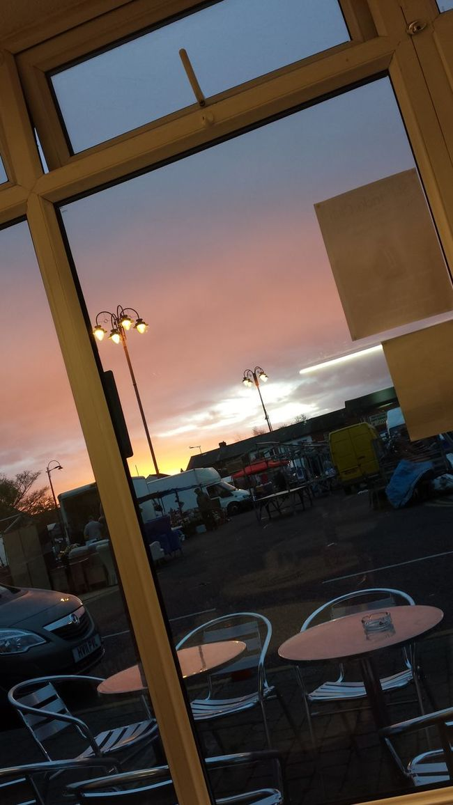 Sky over Earlstown, pic taken from local cafe Early Morning Sky Earlstown Morning Light Breakfast Time