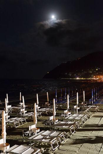 Canon Canonphotography Italy Italy❤️ Laigueglia Moon Moonlight Sea Summer