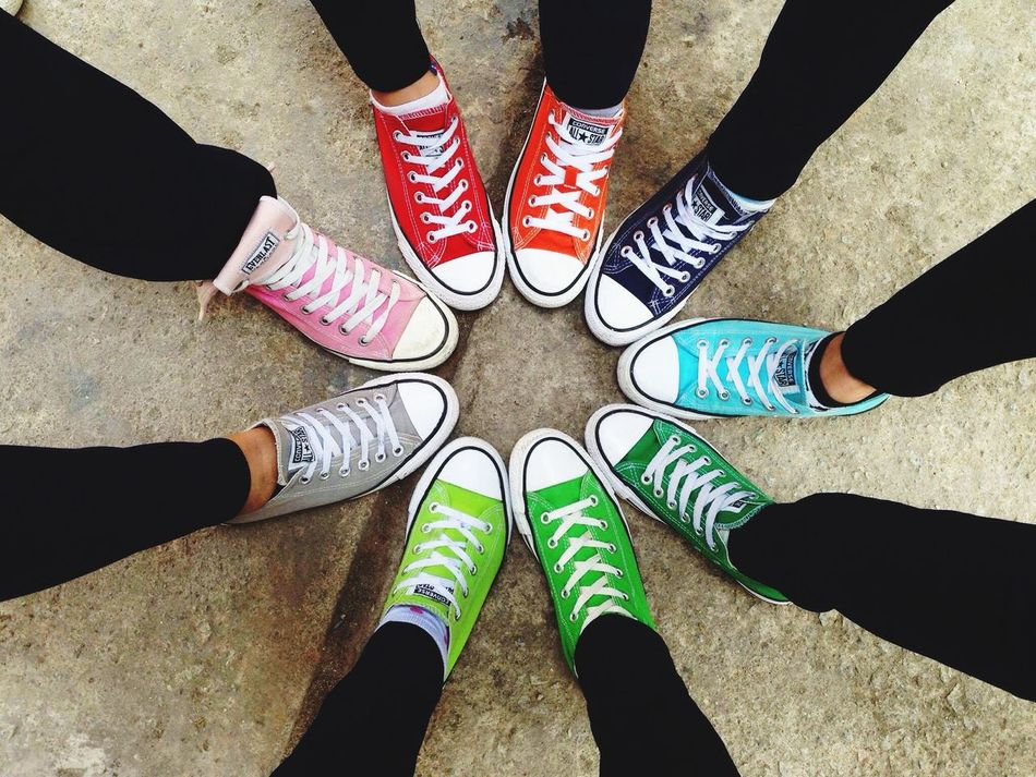 So beautiful Team Colors Colorful Converse Thanhthanh Ryeo
