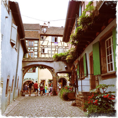 Traveling at Riquewihr by Adirak