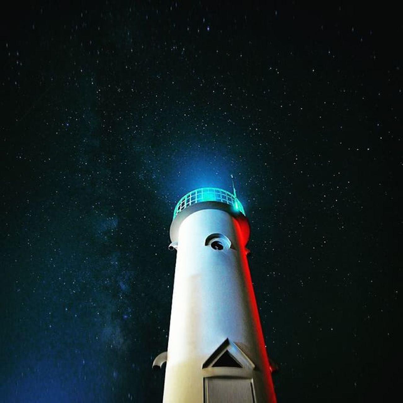 등대샷. 시간나면 또 찍으러가고픈- 은하수 등대 Galaxy Star 별 nightsky skyline 밤하늘