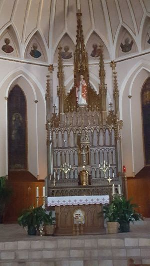 Altar Arch Architectural Column Architecture Day History Indoors  No People Place Of Worship Religion Spirituality