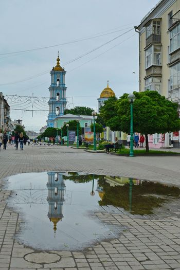 Travel Photography Beautiful Ukraine Reflection Water Reflection Architecture Church Streetphotography Hello World On The Road Old Buildings
