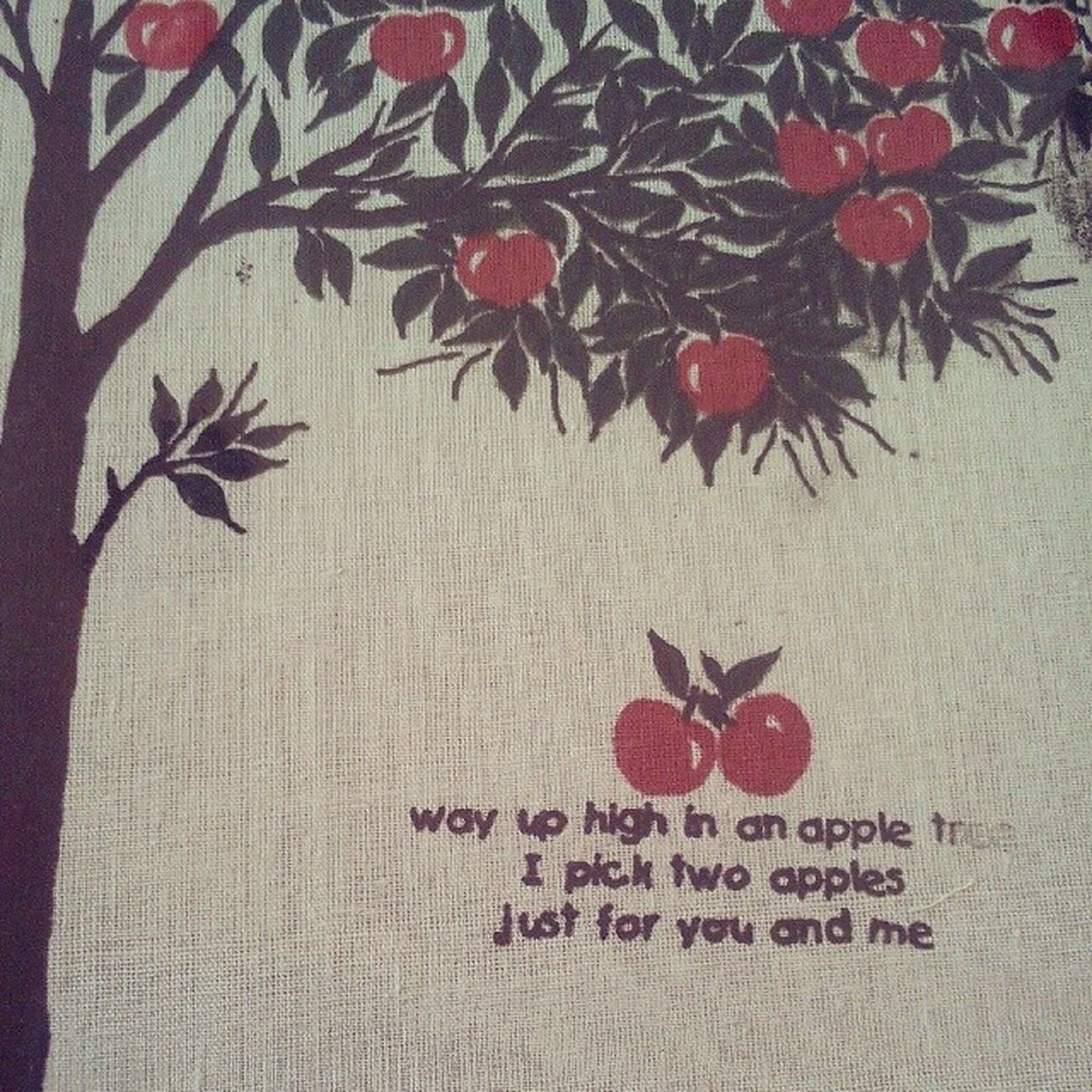 just for you and me Apple Pie Applepie Love tree