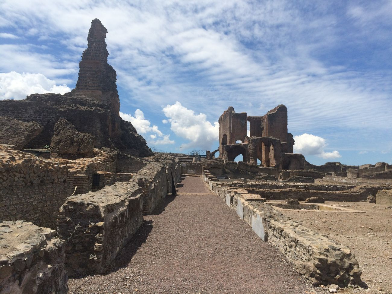 Historical Sights View Appia Antica Rome Old Buildings Architecture Historical Building Villa Dei Quintili Discovering Great Works Roma