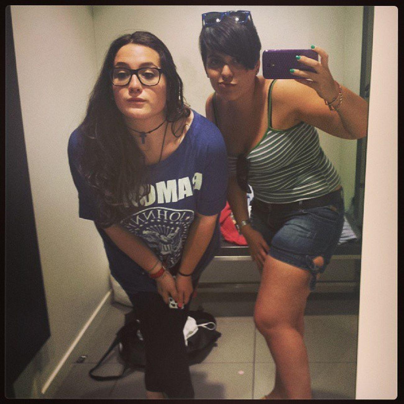 2tontasmuytontas en Ciudadreal de Shopping en el H &M Bobacas