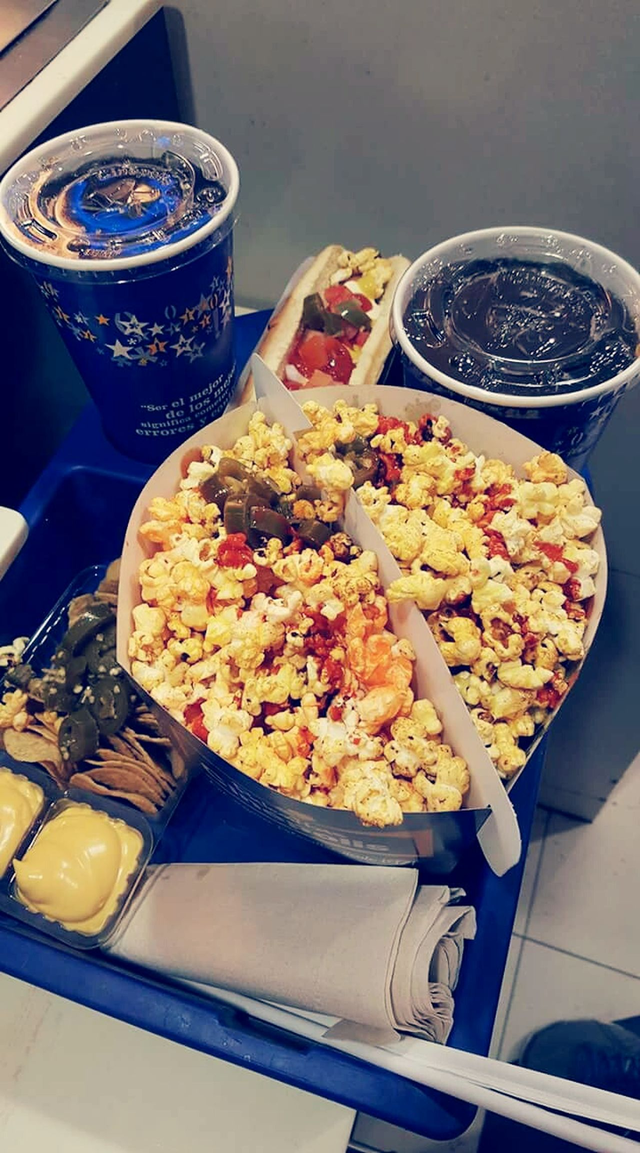 Popcorn🌽👌 Goodmovie Food And Drink 3idiots 💥 Ready-to-eat