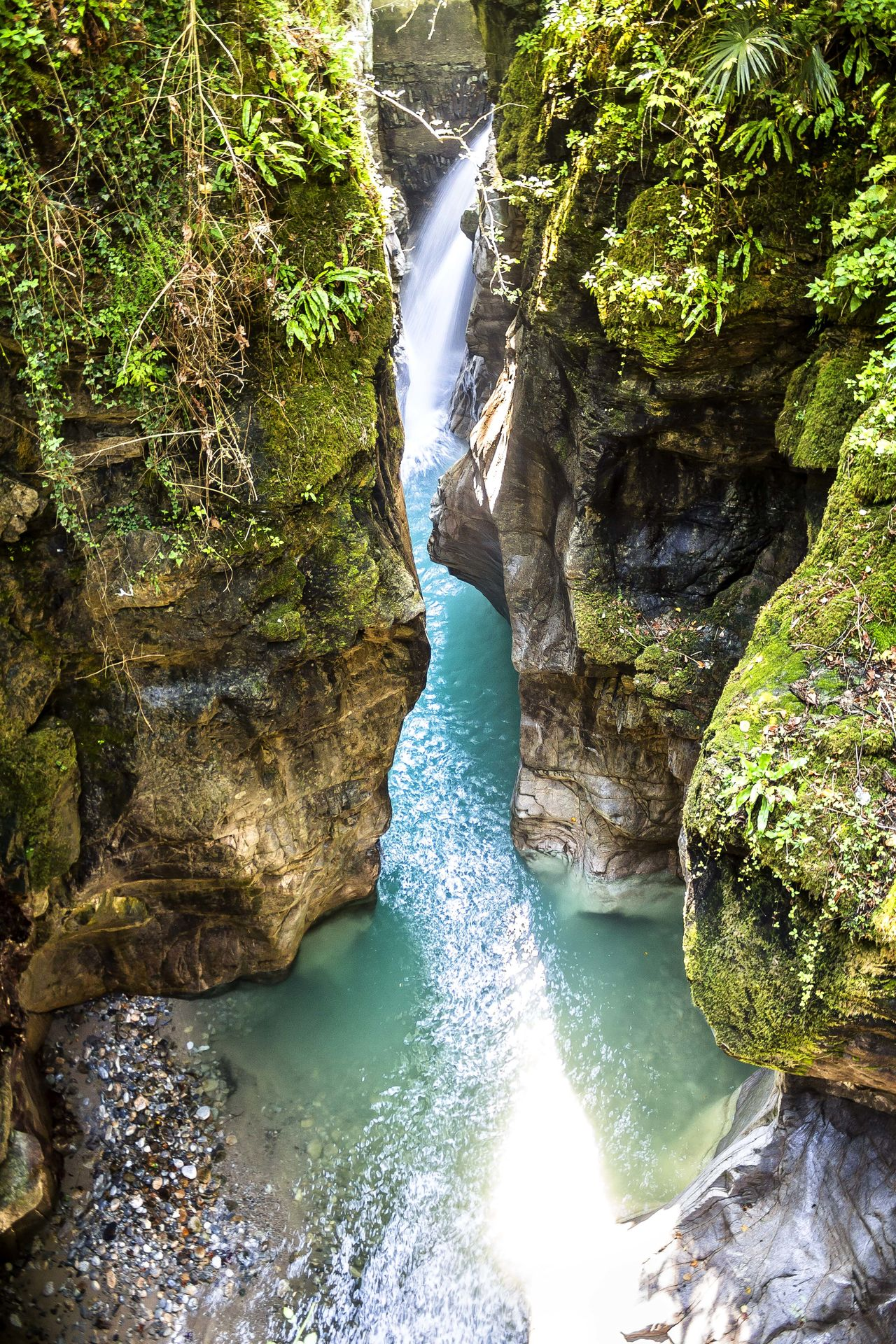 Bellano The Week On EyeEm Beauty In Nature Day Italy Motion Nature No People Orrido Orrido Di Bellano Outdoors Rock - Object Water Waterfall
