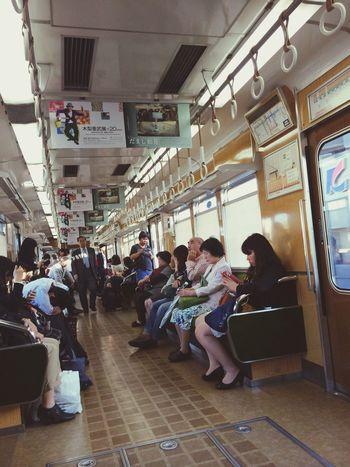 Public Transportation Taking Photos Traveling On The Train