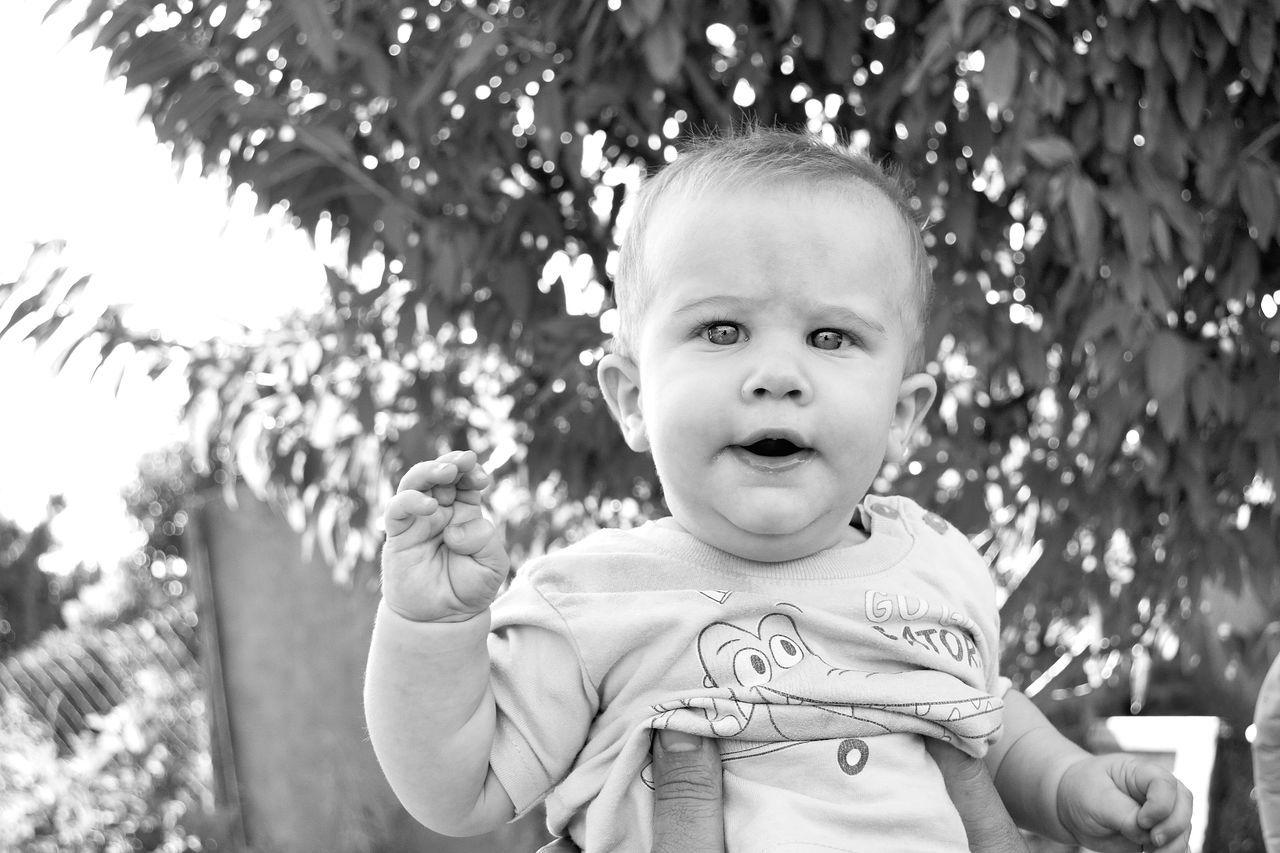 Beautiful stock photos of niedlich, 12-17 Months, Baby Boys, Babyhood, Bonding