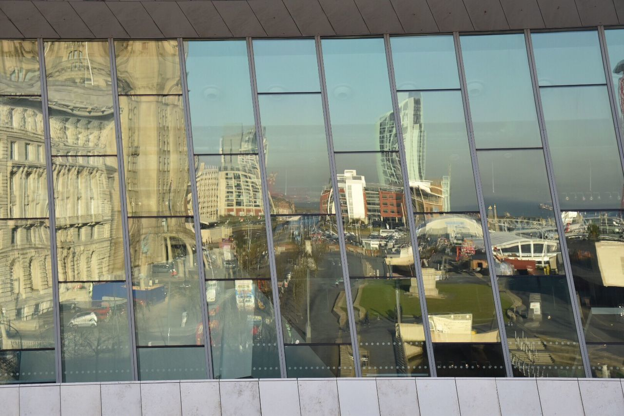 Urban reflections. Finding New Frontiers Built Structure Architecture Window Building Exterior Reflection Day No People Indoors  Construction Sky Love EyeEm Zoom Urban Reflections Different Perspective Fresh On Eyeem  Reflections Architecture Photography Architectural Detail Architecture Creativity EyeEm Best Shots EyeEm Masterclass Getty X EyeEm in Liverpool
