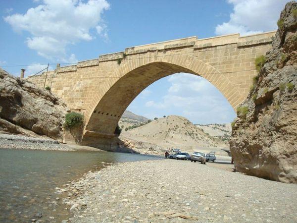 Tarihi Adıyaman Cendere Köprüsü