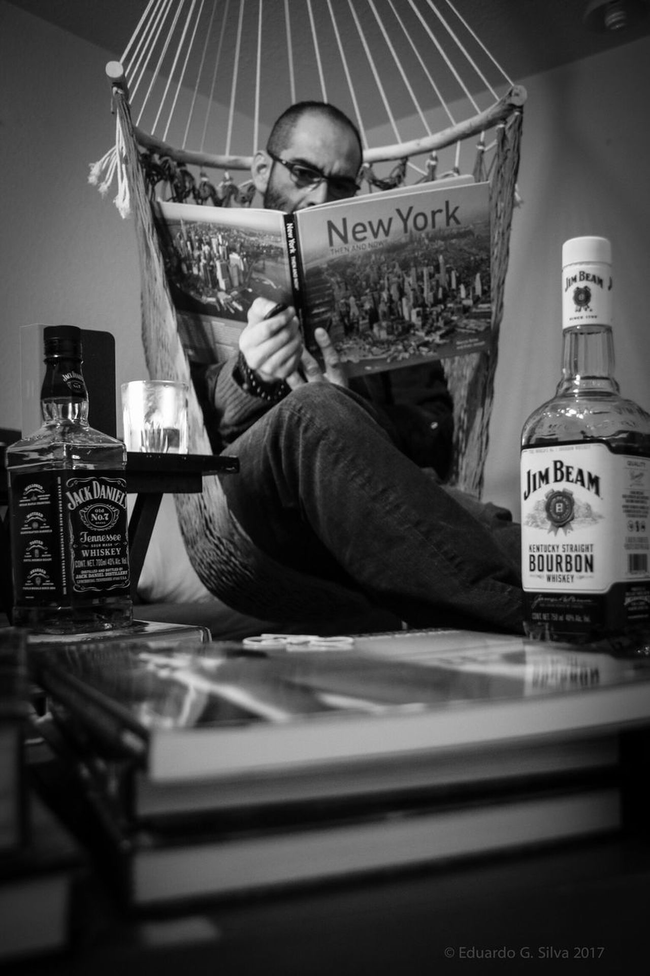 Black & White One Person Lifestyles Home Interior Men Black And White Blackandwhite Photography Black And White Photography Black And White Collection  Portrait Self Portrait Books Book Man