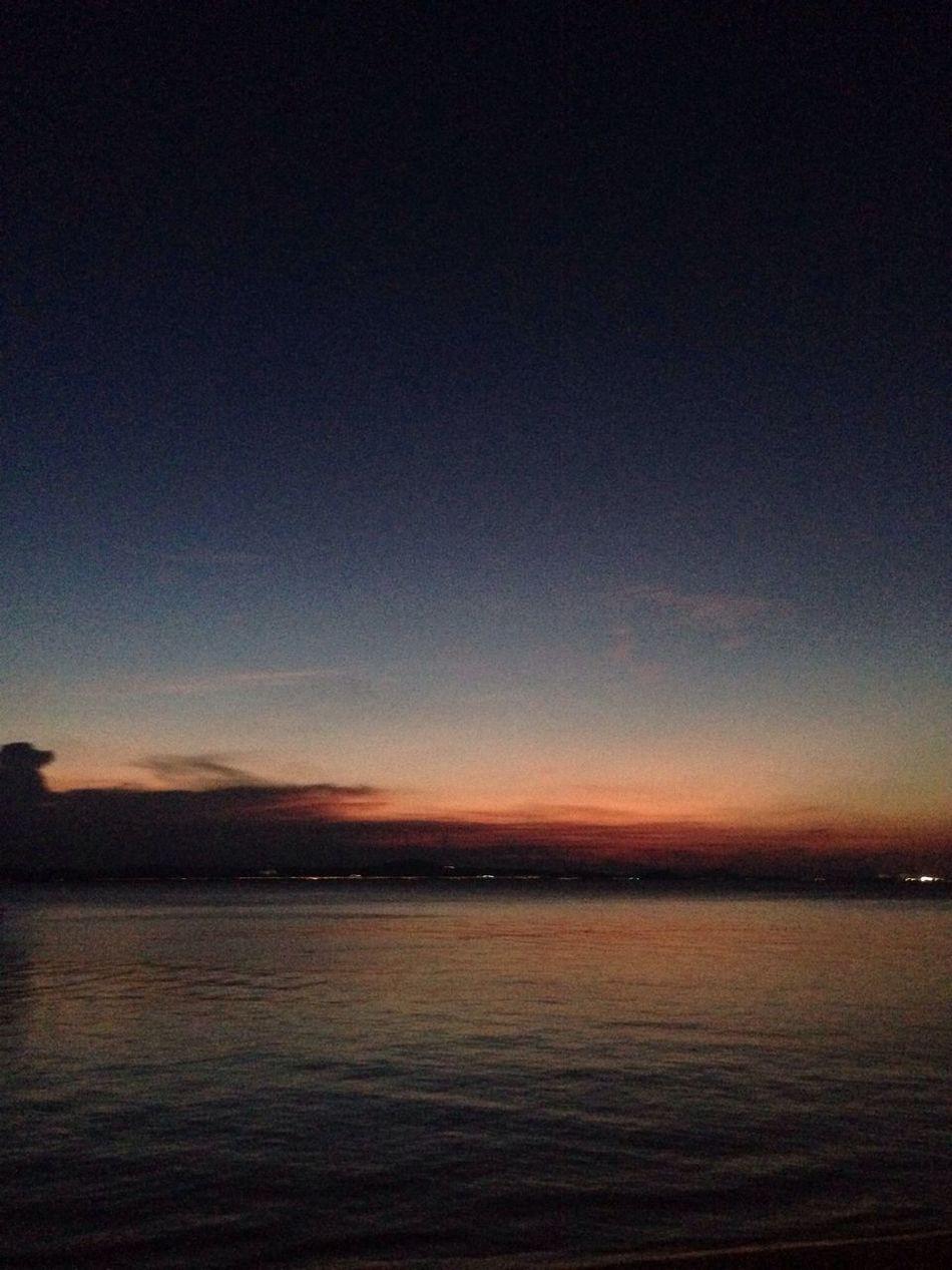 At 7:45 PM Kapas Island, Marang, Kuala Terengganu, Malaysia