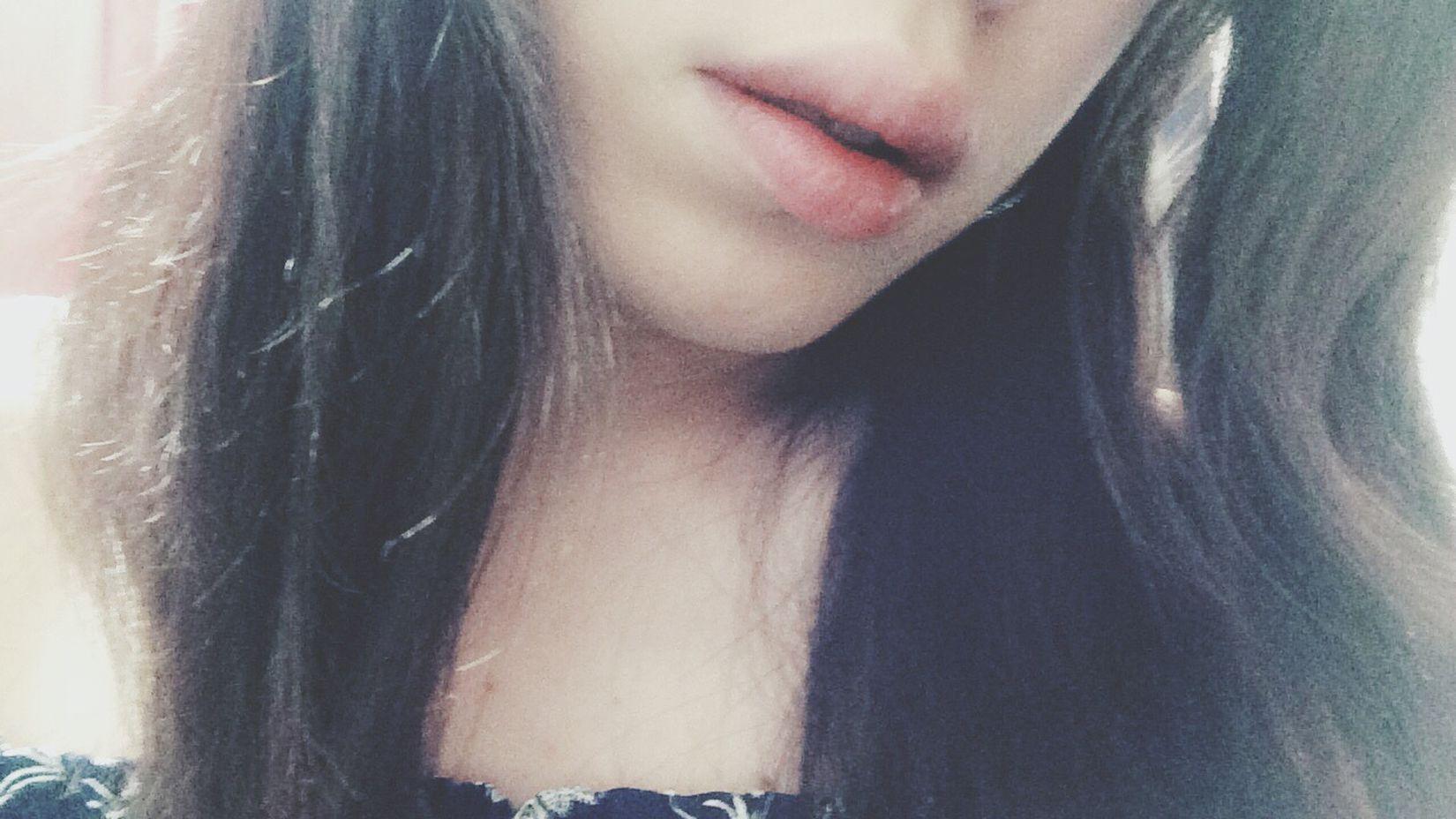 Hello World Lips Selfie Thats Me  Shopping ♡ Japan あんにゅい けだるげ なんとなく 憂鬱 雨の日 Rainy Days