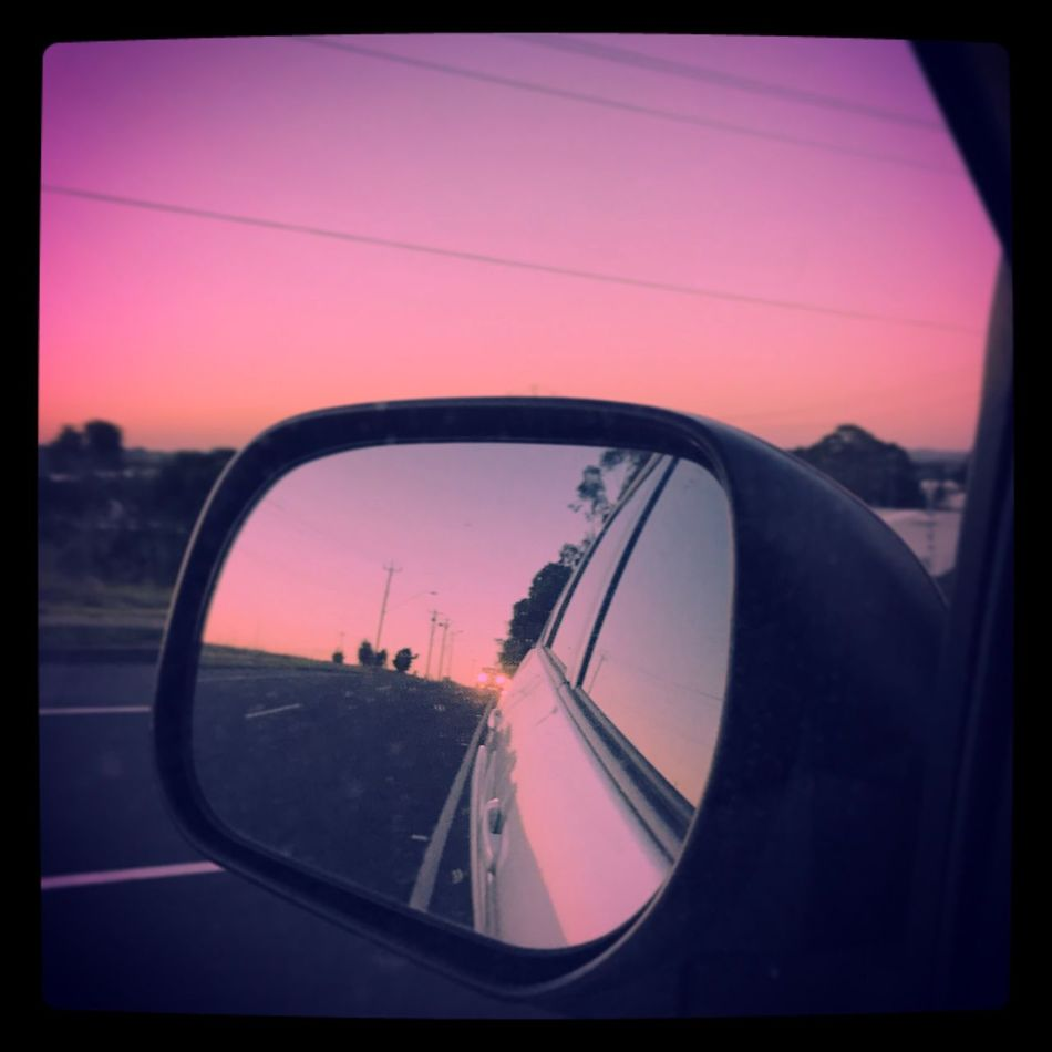 On the road again 🎵🚘🎼 Roadtrip Carmirror Lifeontheroad Prettysky Photography 📸