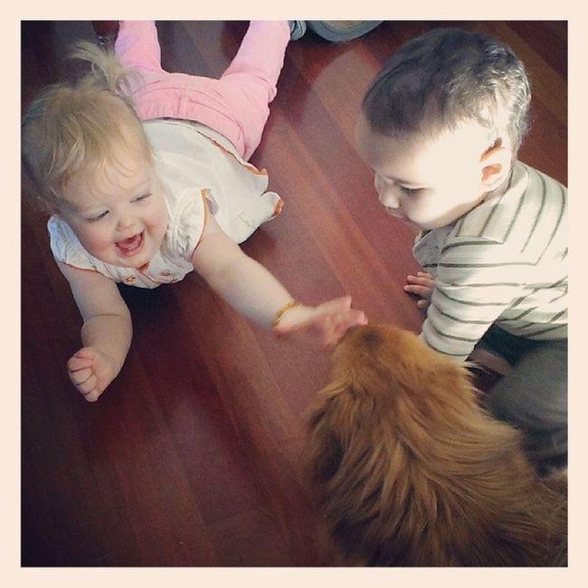 Baby work meeting! I love my life! Graceasims Emergingdesigner Designer4life Workingmom momslife peopleofpnw @peopleofpnw cupcakes dogs kids