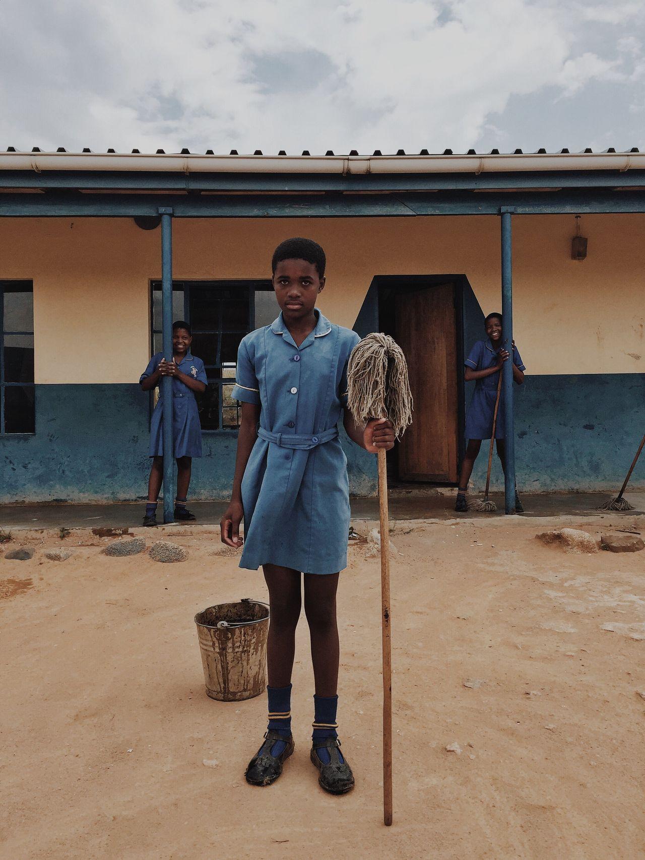Girl Power Swaziland  Mopping Education Waterislife