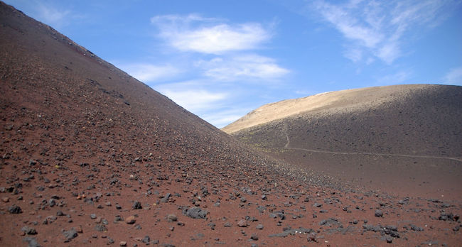 Capelo, Azores Arid Climate Arid Landscape Azores Beauty In Nature Blue Cloud - Sky Day Extreme Terrain Famous Place Geology Landscape Mountain Nature No People Outdoors Physical Geography Remote Rugged Scenics Sky Solitude Tranquility Travel Volcano