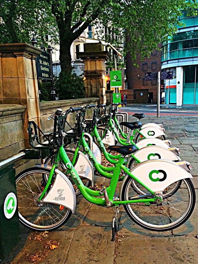 Boris's Bikes Liverpool City Center
