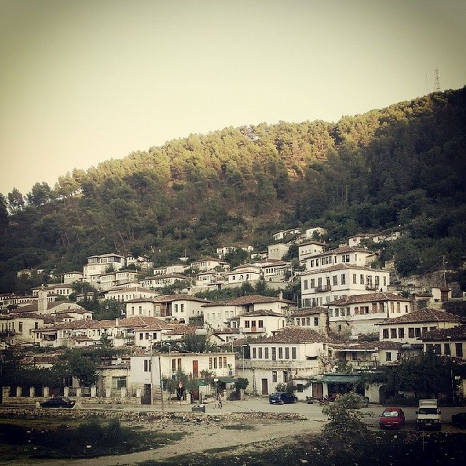 Berat, Albania Albania Visitalbania Berat People Town Urban Cityscapes City View  Urban Landscape City Street Photography Streetphotography City Life City Street Vintage Land Landscape Travel Travel Destinations Nature