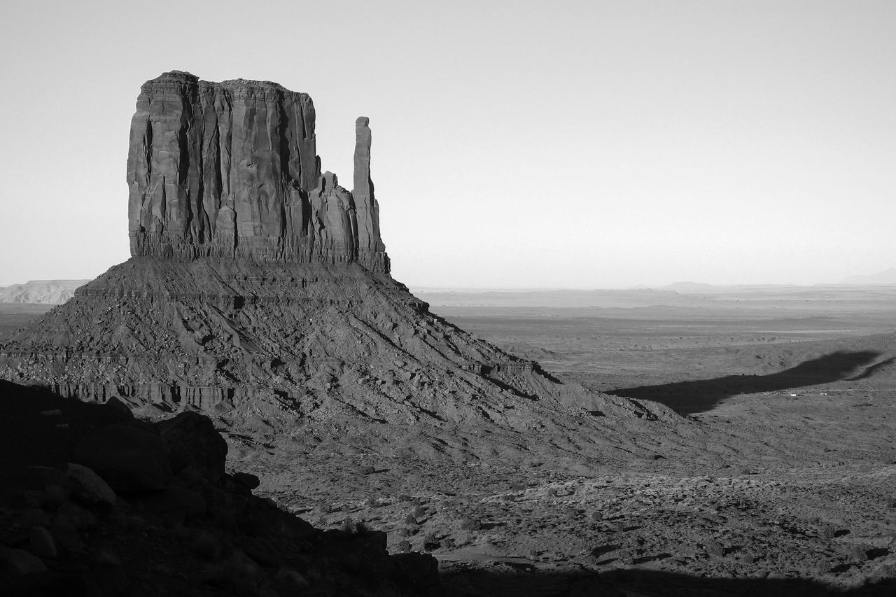 Arid Climate Eroded Geology Monochrome Photography Monument Valley Physical Geography Rock - Object Rock Formation Sandstone Rocks Rocky Landscape Rocky Mountains Eroded Rocks Natural USA Geological Formations Wind Erosion Sandstone Old West  Scenic Landscapes Geological Formation Black & White Greyscale The Old West Travel Destinations Monochrome _ Collection