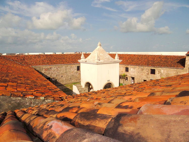 17th Century Architecture Colonization Fortress Historical Building Natal - RN Outdoor Museum A Bird's Eye View
