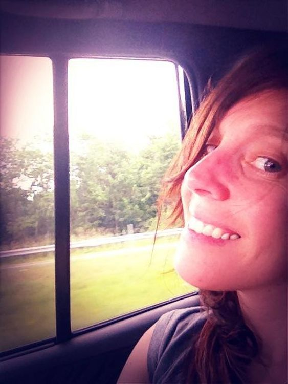 on the road at heading to Firefly by Melinda Green