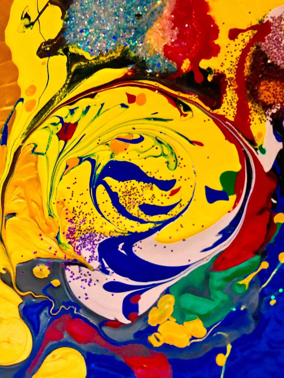 Multi Colored Yellow Close-up Pattern Abstract Water No People Day Colorful Klimpi-klimperator KLIMPI KLIMPERATOR Colorexplosion Hobbyphotography