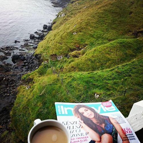 Sunday Coffeetime Faroeislands Faroe Enesazinstyle Atestilusod Tórshavn Style Mik Sundaychill Nature Peace Sea Green