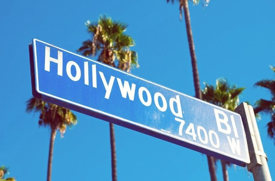 Hollywood Boulevard. Hollywood Dream California USA Photos