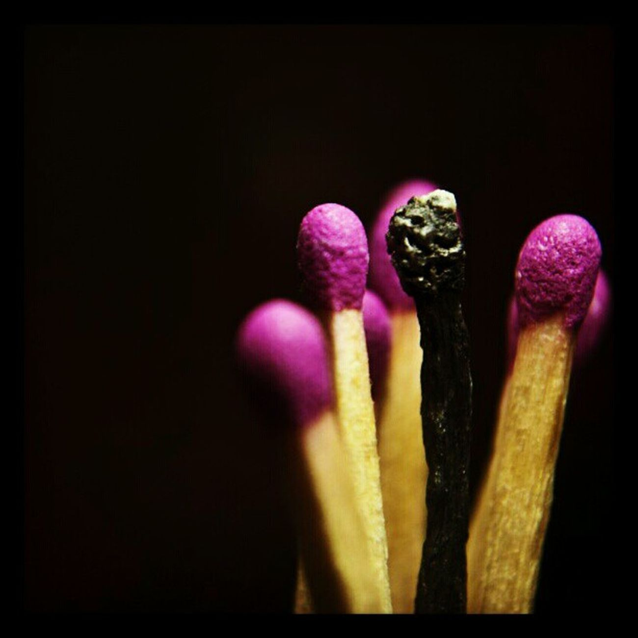 WHPhideandseek Match Stick Instagram purple picoftheday