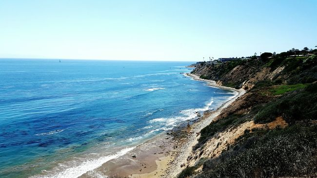 Abolonecove Morning Hike Palos Verdes, CA Ocean View