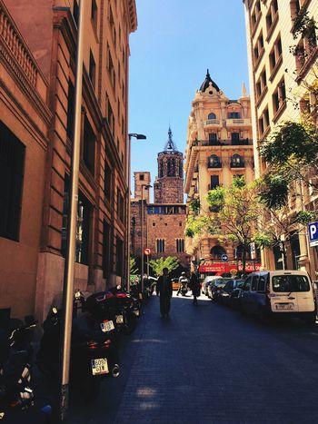 Carrer Pare Gallifa. Taking Photos Streetsofbarcelona Mycity Cathedral