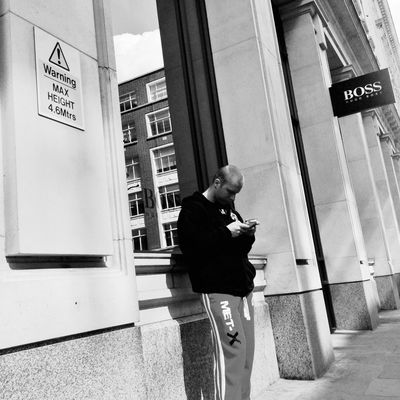 streetphotography in City of London by Chris Prakoso