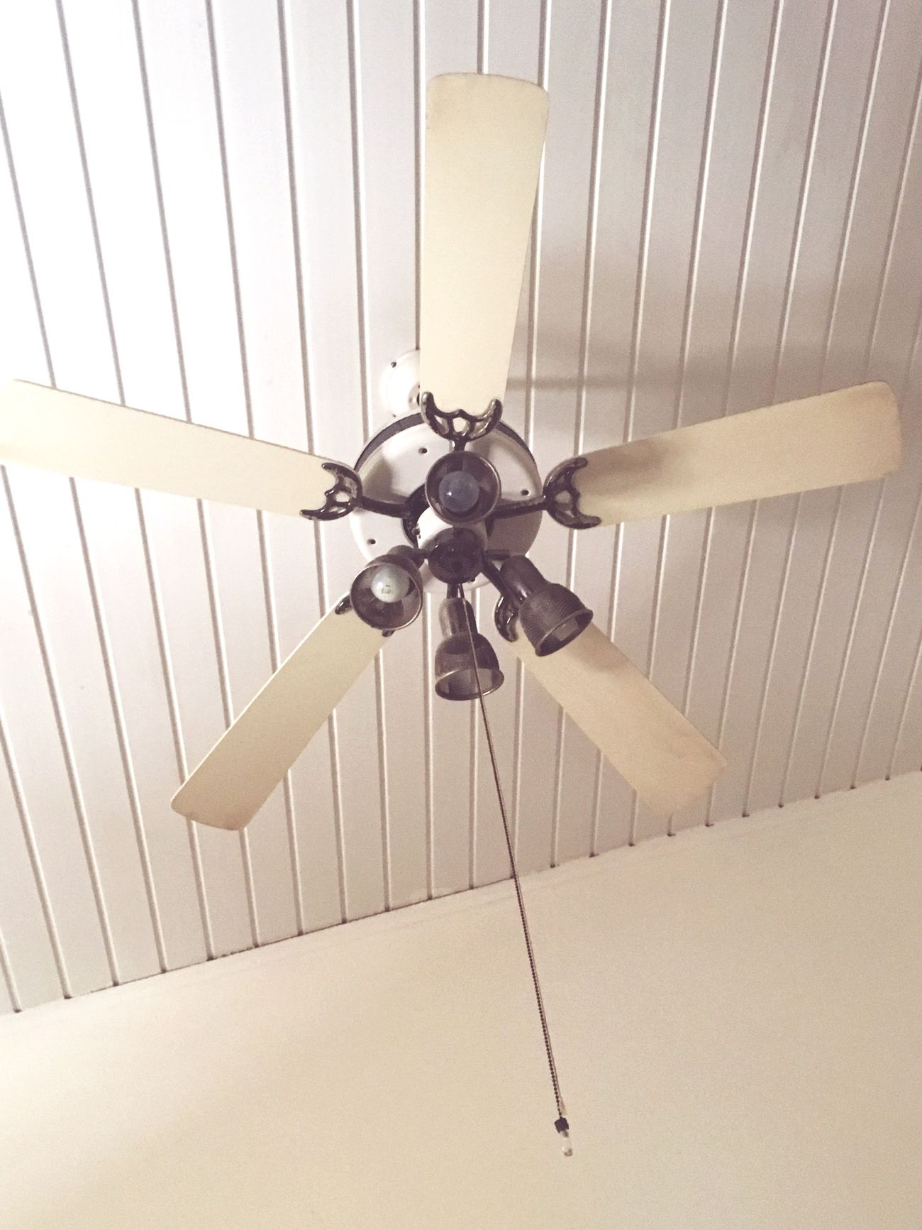 Vintage Style Vintage Ceiling Fan Indoors  Electric Light