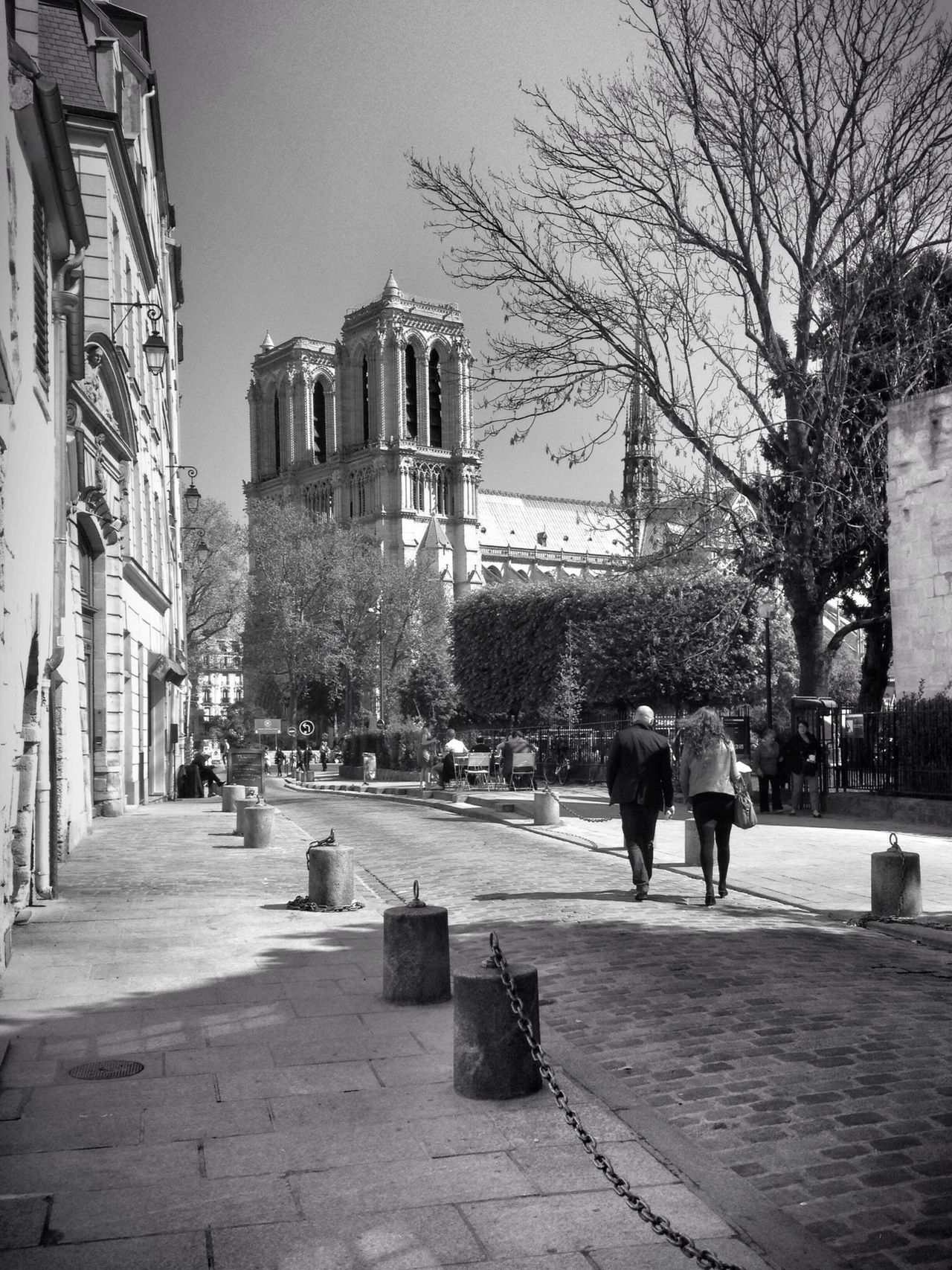 Walk in Paris... Streetphotography Notre Dame De Paris Blackandwhite AMPt - Street