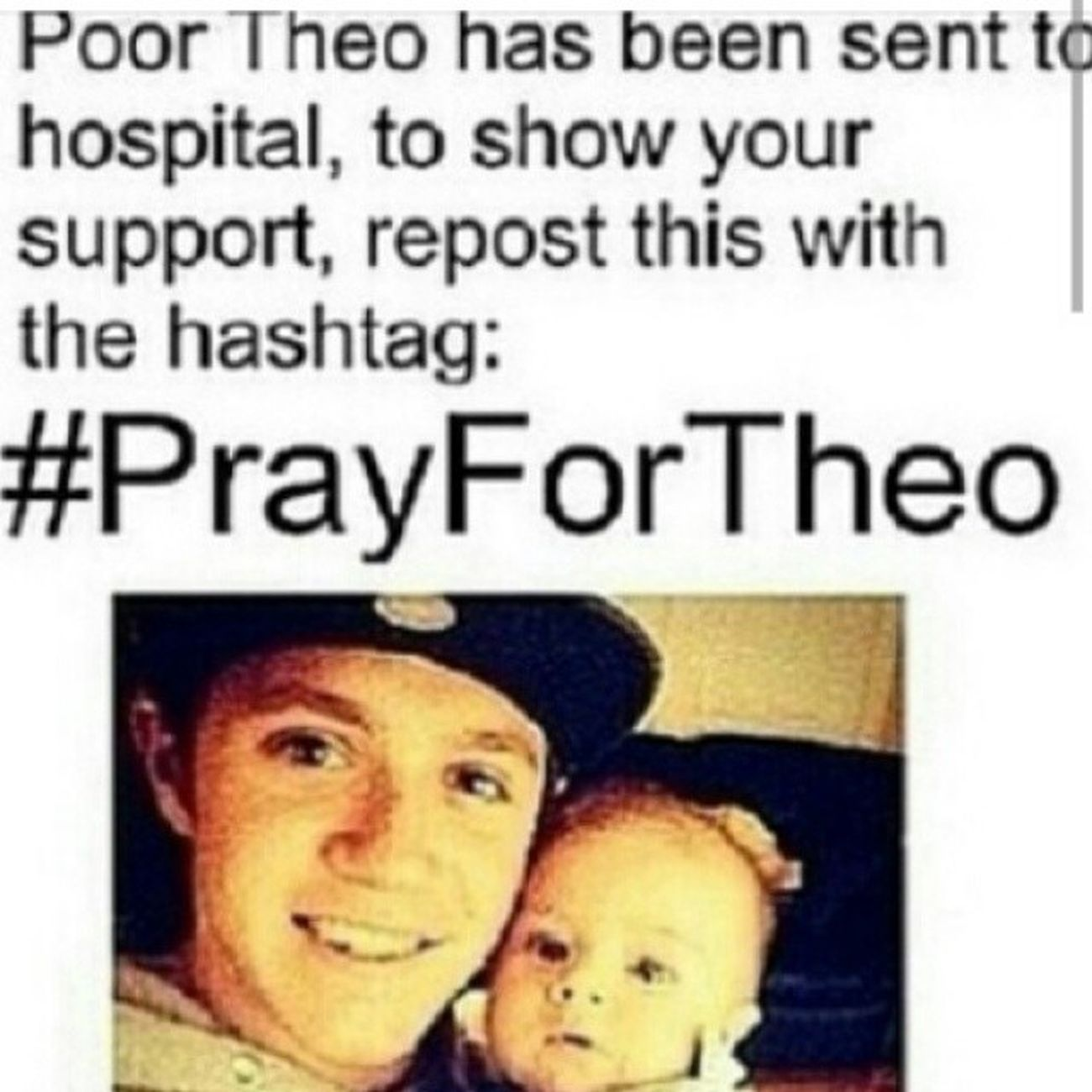 PrayForTheo Hope he's okay!<3 Theohoran Nialljameshoran Zaynmalik  liampayne louistomlinson harryedwardstyles 1d onedirection