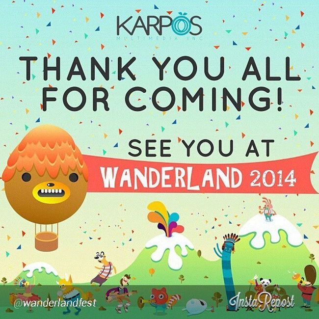 please bring, MGMT, The Naked and Famous, Tokyo Police Club, Two door cinema, Lupe Fiasco l, Kid Cudi LOL!!, The Xx,...... and more??? REGRAM from @wanderlandfest Wanderlandmusicfest Wanderland2013