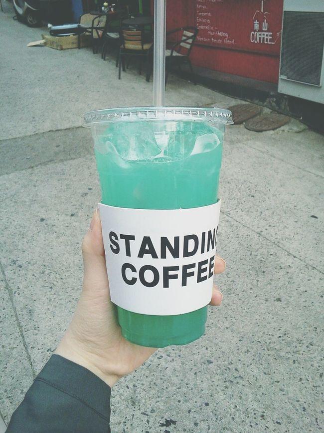 블루레몬에이드의 원조(?) 스탠딩커피 Standing Coffee Lemonade