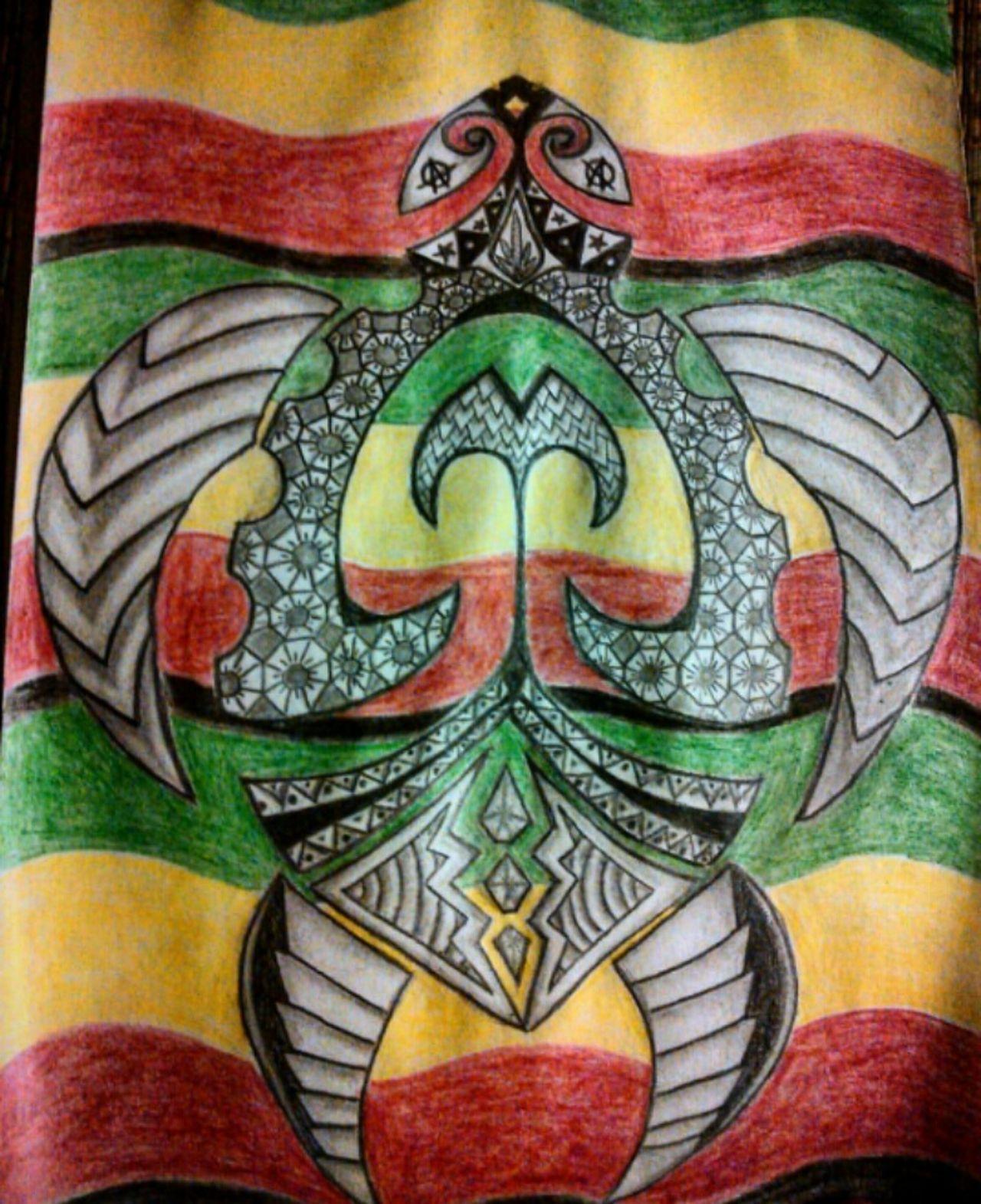 Turtle Turtles I Love Turtles Drawing Colored Pencils Shading Art ArtWork Art, Drawing, Creativity Creativity Geometric Patterns Patterns RASTA Hippy Art