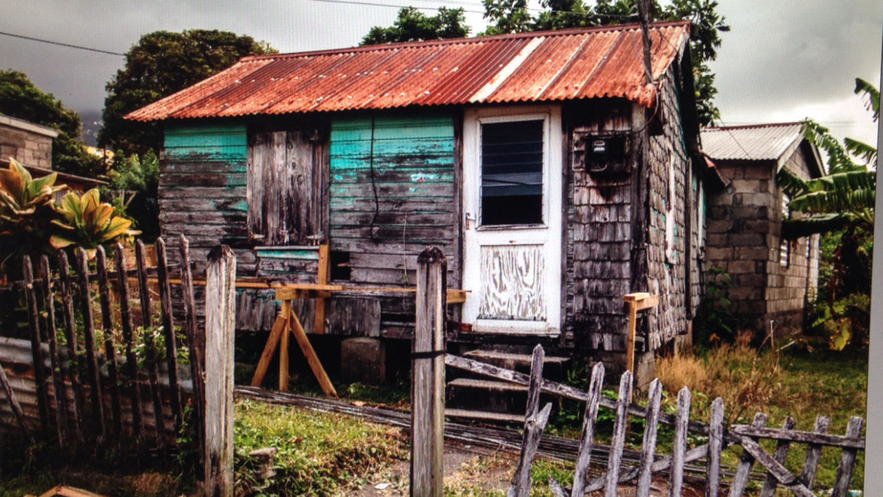 Hello World stkitts Old House Countryside Country Life Country Carribean Colorful