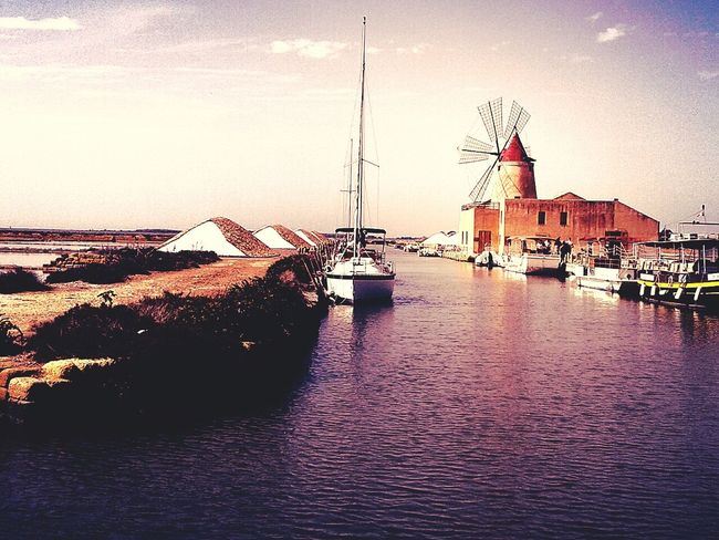 Salt factory - Marsala Relaxing Hello World Taking Photos Check This Out